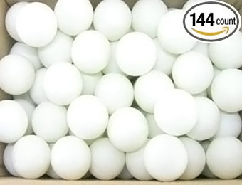 52% off Pack of 144 Practice Ping Pong Balls