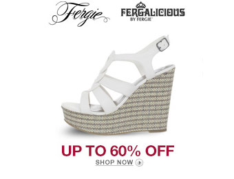 Up to 60% off Fergie Fergalicious Women's Shoes
