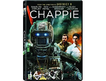 81% off Chappie DVD + UltraViolet Digital Copy