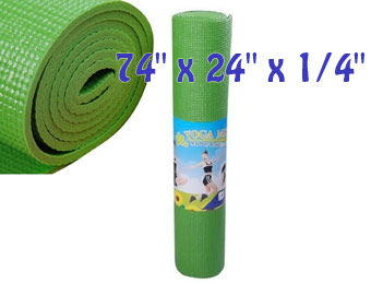 35% off Extra Thick Non-Skid Deluxe Yoga Mat w/ Carrying Bag