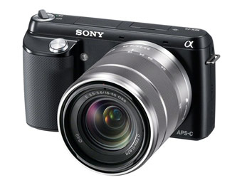 37% off Sony NEX-F3K/B 16.1MP Digital Camera w/18-55mm Lens