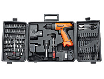 41% off Trademark Tools 75-66007 78Pc 18V Cordless Drill Set