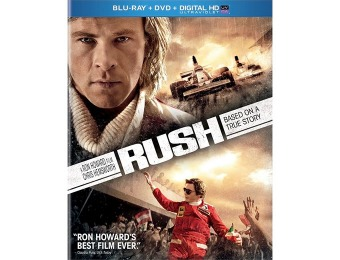 83% off Rush (Blu-ray + DVD + Digital HD UltraViolet)