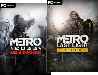 80% off Metro Redux Bundle (PC Download)