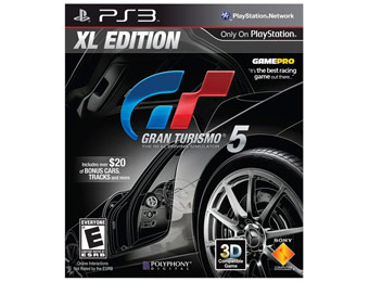 Deal: Gran Turismo 5 XL Edition for Sony PlayStation 3