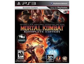 33% off Mortal Kombat Komplete Edition PlayStation 3
