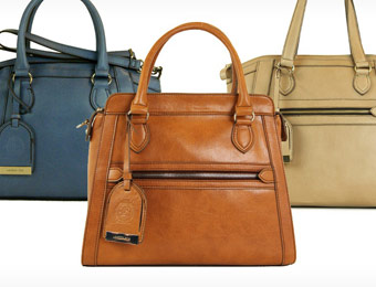 71% off London Fog Fielding Handbags, Several Styles Available