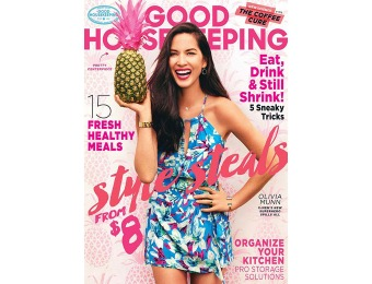 $37 off Good Housekeeping Magazine, $4.99 / 12 Issues