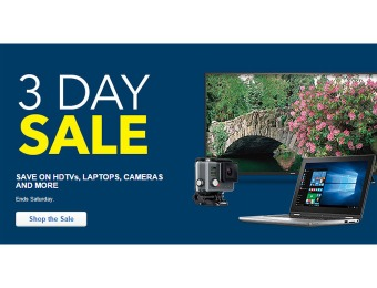 Best Buy Three Day Sale Event - Laptops, Phones, TVs & More