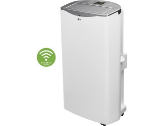 $300 off LG 14000 BTU Portable Air Conditioner w/ Wi-Fi Technology