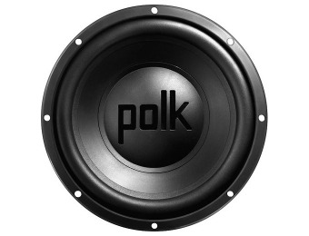 "$50 off Polk Audio DXI1240DVC 12"" Dual-Voice-Coil 4-Ohm Subwoofer"