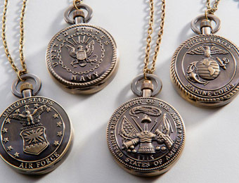 88% off Strada Armed Forces Pocket Watches, 4 Styles