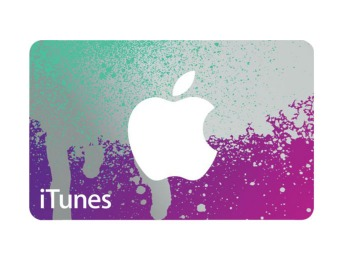 Deal: 20% off Apple iTunes Gift Card, $80 for $100
