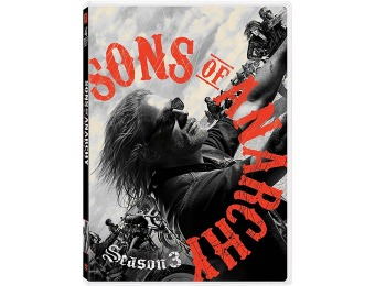 75% off Sons of Anarchy: Season 3 DVD