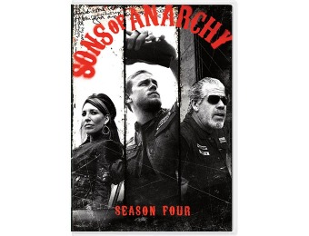 63% off Sons of Anarchy: Season 4 DVD