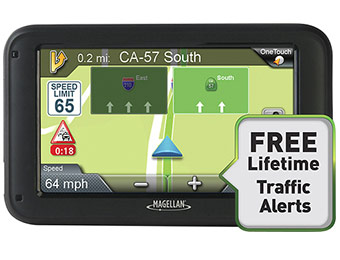"42% off Magellan RoadMate 2210T 4.3"" GPS with Lifetime Updates"
