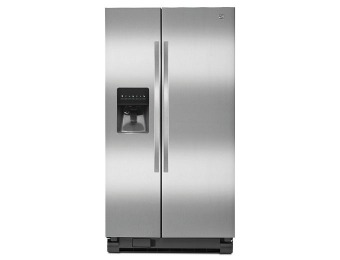 $603 off Kenmore Stainless Steel Side-by-Side Refrigerator #51123