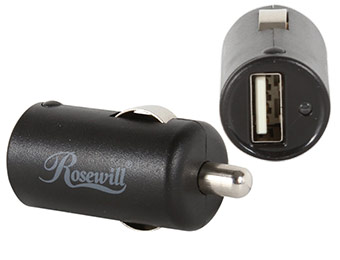 60% off Rosewill RCP-SC41 1A USB Micro Car Charger
