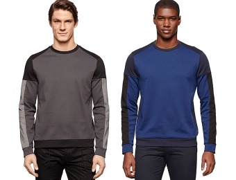85% off Calvin Klein Crew-Neck Lightweight Sweatshirt