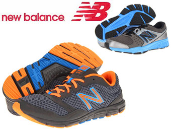32 Styles of New Balance Men's & Women's Running Shoes for $45