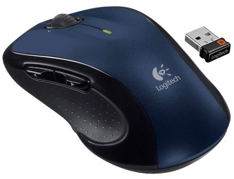63% off Logitech M510 Wireless Mouse, Blue (910-002533)