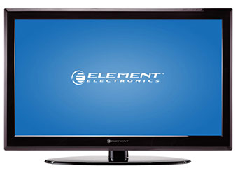 "$130 off Element ELDFW464 46"" LCD 1080p HDTV"
