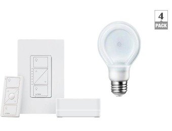 Up to 35% off Home Automation Kit & LED Bulbs at Home Depot