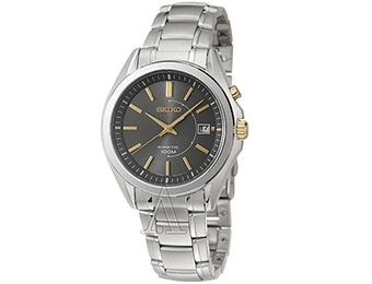 79% off Seiko Men's Kinetic Stainless Steel Watch