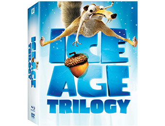 69% off Ice Age Trilogy (Blu-ray)