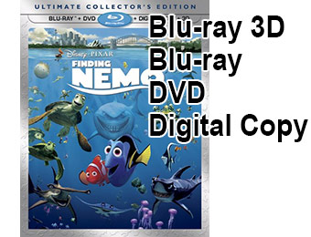 54% off Finding Nemo - Ultimate Collector's Edition (Blu-ray 3D)