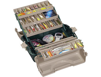 60% off Plano Hip Roof Tackle Box with 6 Trays