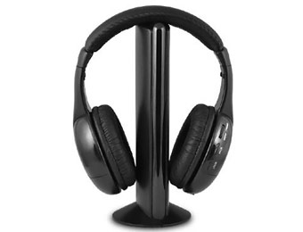 47% off Ematic EH154W Wireless Headphones w/ Transmitter