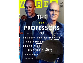 93% off Wired Magazine Subscription, $3.89 / 12 Issues