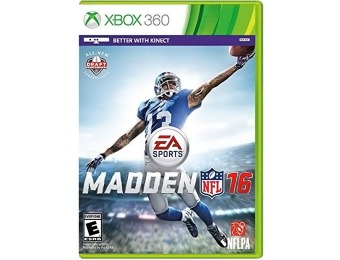 33% off Madden NFL 16 - Xbox 360