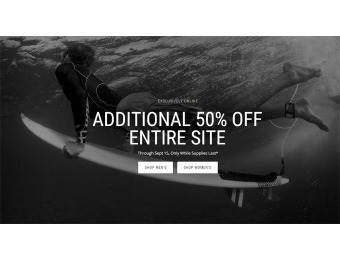 Deal: Additional 50% off Everything at Oakley Vault