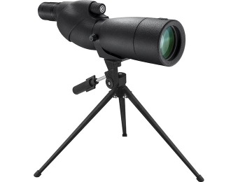 75% off Barska WP Level Straight Spotting Scope 20-60x65