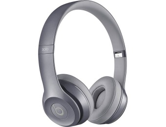 $100 off Gray Dr. Dre Solo 2 GS-MHNW2AM/A Headphones