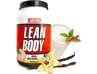 45% off Lean Body Protein Meal Replacement Powder, 3 Flavors