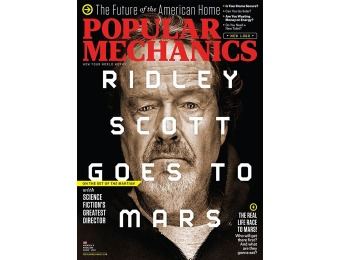 79% off Popular Mechanics Magazine, $9 / 10 Issues