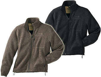 61% off Cabela's Mountain Range Wool Sweater Fleece