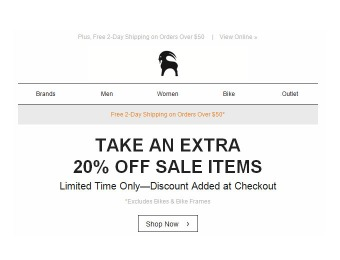 Deal: Extra 20% off Sale Items at Backcountry