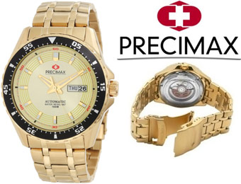 90% off Swiss Precimax PX12097 Vintage Automatic Men's Watch