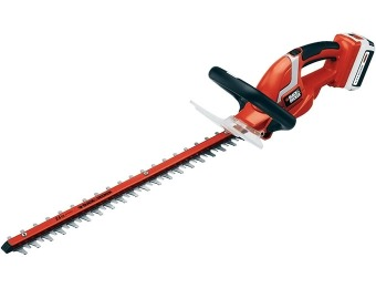 "$75 off Black & Decker LHT2436 24"" 40V Cordless Hedge Trimmer"