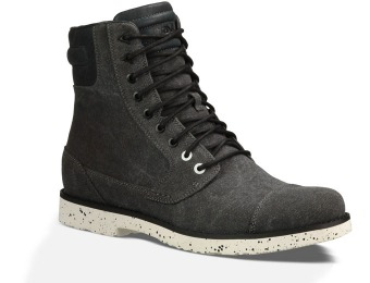 $80 off Teva Durban Tall Waxed Canvas Men's Boots, 2 Styles