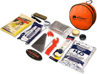 60% off eGear Ready Survival Essentials Kit 200