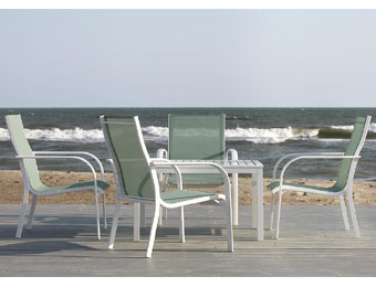 $358 off Garden Oasis Hopleaf 5pc Patio Furniture Set