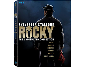 57% off Rocky: The Undisputed Collection (7 Discs) on Blu-ray