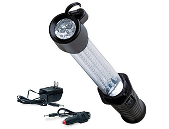 43% off Eastwood Rechargeable 60+7 LED Shop Light Flashlight
