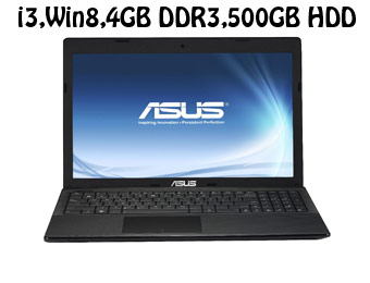 "$61 off Asus X55C 15.6"" Notebook, (i3,Win8,4GB,500GB HDD)"