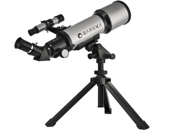 58% off Barska Starwatcher 300 Power Refractor Telescope